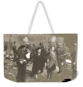 Warsaw Ghetto Uprising Number 2 1943 Color Added 2016 Weekender Tote Bag