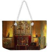 Warwick Castle Chapel Weekender Tote Bag by Chris Lord