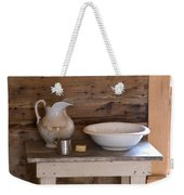 Wash Bowl Pitcher And Cup Weekender Tote Bag