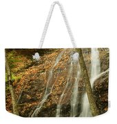 Wash Hollow Falls Nantahala National Forest Nc Weekender Tote Bag