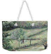 Washday In Provence Weekender Tote Bag