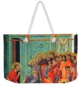 Washing Of Feet 1311 Weekender Tote Bag