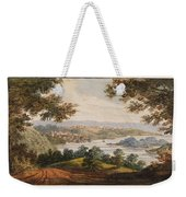 Washington And Georgetown From The Alexandria Road Weekender Tote Bag