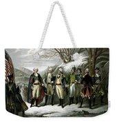 Washington And His Generals  Weekender Tote Bag