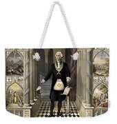 Washington As A Freemason Weekender Tote Bag