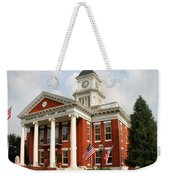Washington County Courthouse Weekender Tote Bag by Kristin Elmquist