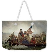 Washington Crossing The Delaware River Weekender Tote Bag