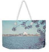 Washington Dc In Spring Weekender Tote Bag