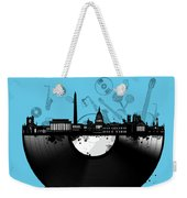 Washington Dc Skyline Vinyl 2 Weekender Tote Bag