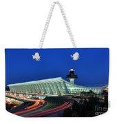 Washington Dulles International Airport At Dusk Weekender Tote Bag