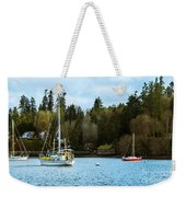 Washington Harbor Weekender Tote Bag