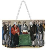 Washington: Inauguration Weekender Tote Bag