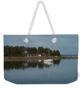 Washington Island Harbor 3 Weekender Tote Bag