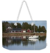 Washington Island Harbor 4 Weekender Tote Bag