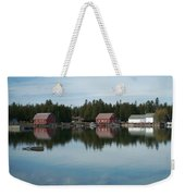 Washington Island Harbor 5 Weekender Tote Bag