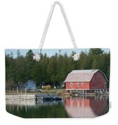 Washington Island Harbor 6 Weekender Tote Bag