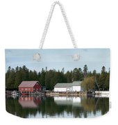 Washington Island Harbor 7 Weekender Tote Bag