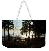 Washington Island Morning 3 Weekender Tote Bag