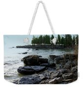 Washington Island Shore 1 Weekender Tote Bag