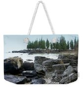 Washington Island Shore 3 Weekender Tote Bag
