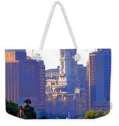 Washington Looking Over To City Hall Weekender Tote Bag