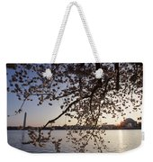 Washington Monument And Jefferson Weekender Tote Bag