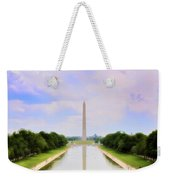 Washington Monument And Reflecting Pool Weekender Tote Bag