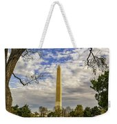 Washington Monument From The Mall Weekender Tote Bag