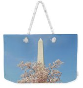 Washington Mounument Weekender Tote Bag