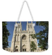 Washington National Cathedral Front Exterior Weekender Tote Bag