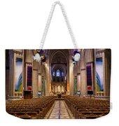Washington National Cathedral Interior Weekender Tote Bag