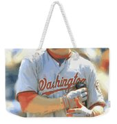 Washington Nationals Bryce Harper Weekender Tote Bag