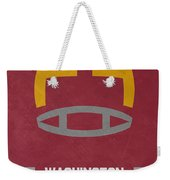 Washington Redskins Vintage Art Weekender Tote Bag
