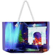 Washington Square Fountain 13c Weekender Tote Bag