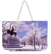 Washington Square Park Weekender Tote Bag by Steve Karol
