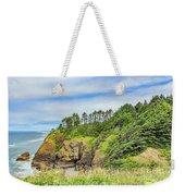Washington State Coastline Weekender Tote Bag