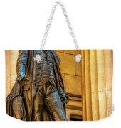 Washington Statue - Federal Hall #2 Weekender Tote Bag