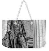 Washington Statue - Federal Hall #3 Weekender Tote Bag