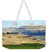 Washington Stonehenge With Vineyard Weekender Tote Bag