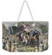 Washington: Trenton, 1789 Weekender Tote Bag
