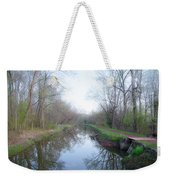Washingtons Crossing - Along The Delaware Canal Weekender Tote Bag