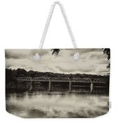 Washingtons Crossing Bridge Weekender Tote Bag