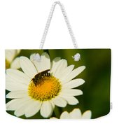 Wasp On Daisy Weekender Tote Bag