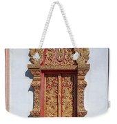 Wat Buppharam Phra Wihan Window Dthcm1582 Weekender Tote Bag