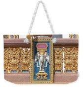 Wat Chedi Mae Krua Wihan Veranda Rail Decorations Dthcm1847 Weekender Tote Bag
