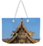 Wat Jed Yod Gable Of The Vihara Of The 700 Years Image Dthcm0963 Weekender Tote Bag
