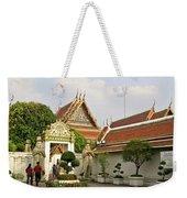 Wat Po Bangkok Thailand 35 Weekender Tote Bag