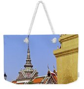 Wat Po Bangkok Thailand 6 Weekender Tote Bag