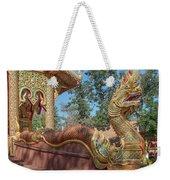 Wat Suan Prig Phra Wihan Makara And Naga Guardian Dthcm2395 Weekender Tote Bag