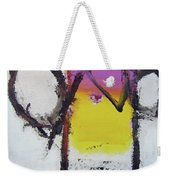 Watch And Listen Weekender Tote Bag by Cliff Spohn